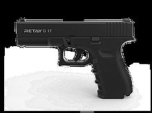 Пістолет стартовий Retay G 17, 9мм. Колір - Black