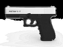 Пістолет стартовий Retay G 17, 9мм. Колір - Chrome