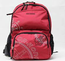 Рюкзак ортопедический Dr.Kong  Z120002 М красный