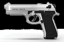 Пістолет стартовий Retay Mod.92, 9мм. Колір - Chrome