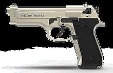 Пістолет стартовий Retay Mod.92, 9мм. Колір - Satin