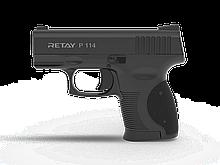 Пістолет стартовий Retay P114, 9мм. Колір - Black