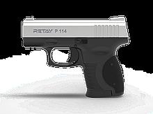 Пістолет стартовий Retay P114, 9мм. Колір - Chrome