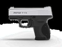 Пістолет стартовий Retay P114, 9мм. Колір - Nickel