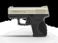 Пістолет стартовий Retay P114, 9мм. Колір - Satin