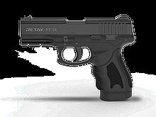 Пістолет стартовий Retay PT24, 9мм. Колір - Black