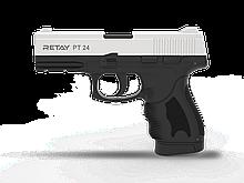 Пістолет стартовий Retay PT24, 9мм. Колір - Chrome
