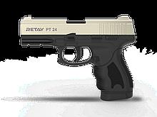 Пістолет стартовий Retay PT24, 9мм. Колір - Satin