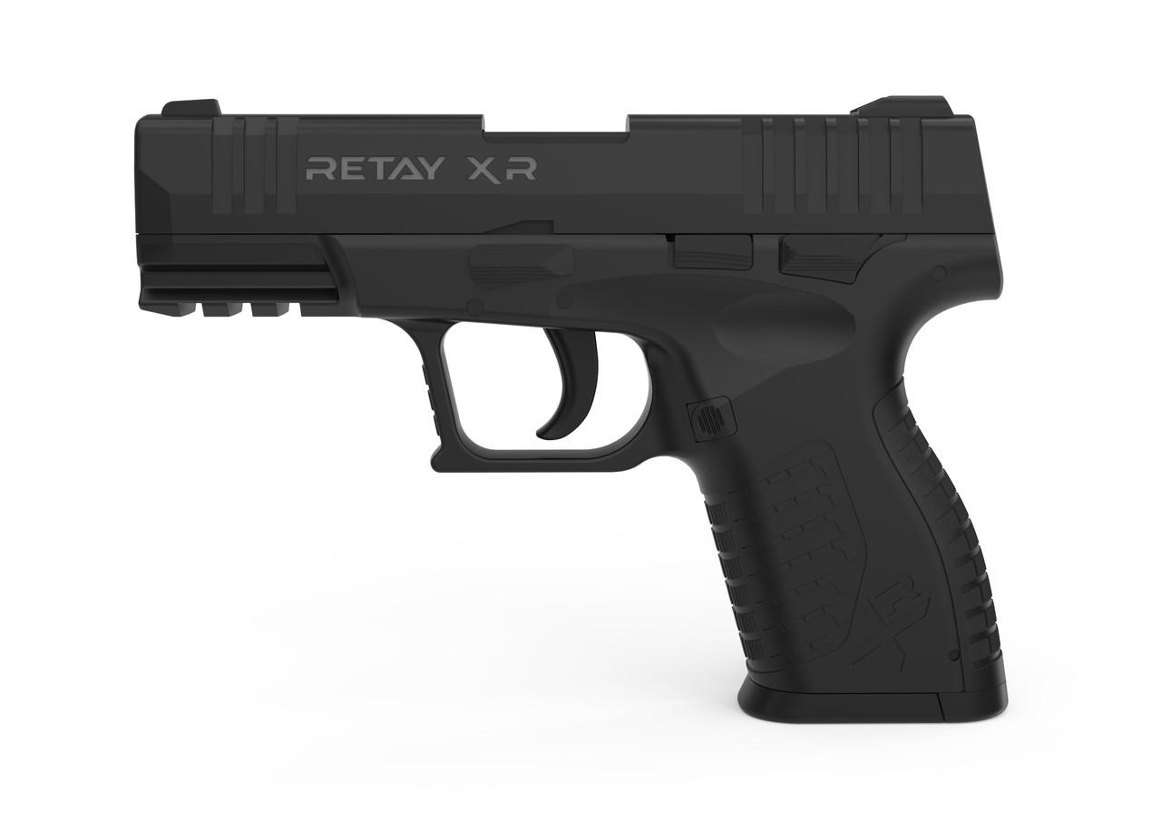 Пистолет стартовый  Retay XR, 9мм. Цвет - Black