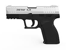 Пістолет стартовий Retay XR, 9мм. Колір - Chrome