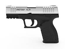 Пістолет стартовий Retay XR, 9мм. Колір - Nickel