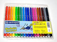 Фломастеры детские Набор из 18 цветов