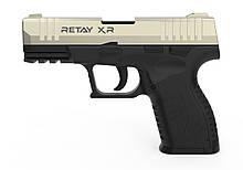 Пістолет стартовий Retay XR, 9мм. Колір - Satin