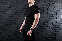 Мужская футболка Pobedov Atom 🔥 (Победов Атом) Black