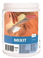 Шпаклевка для паркета Synteko Mixit 1л - Шпаклевка для дерева (Синтеко Миксит)