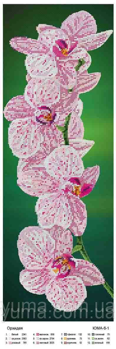 """Схемы (заготовки) для вышивки бисером картин на АТЛАСЕ """"Панно""""  производитель ЮМА , интернет мага"""