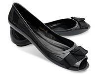 Женские балетки D3434 715 BLACK