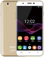 Смартфон ORIGINAL Oukitel U7 MAX Gold (4 Core; 1.3Ghz; 1GB/8GB; 2500 mAh)