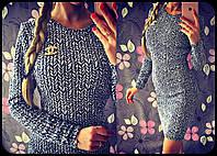 Платье мини с черно-белым узором