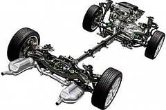 Запчасти ходовой части Range Rover