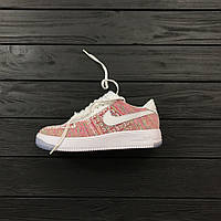 Кроссовки Nike Flyknit Air Force 1 Low 'Multicolor'.