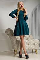 Трикотажное платье мини ( 3 цвета )