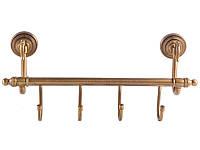 Планка с 4-мя крючками KUGU Versace Antique 210-4A, фото 1