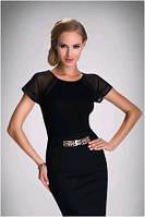 Блузка, кофточка женская с коротким рукавом Eldar ELMA  2017 офисная деловая одежда