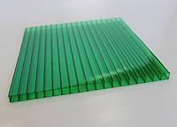 Сотовый поликарбонат Italon, зеленый, 6 мм