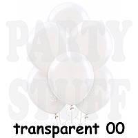 Воздушные шарики Gemar G110  Кристалл Прозрачный 12' (30 см), 100 шт