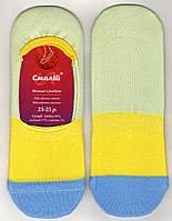 Подследники женские х/б Смалий, 6В4-312Д, 23-25 размер, цветные, 1118