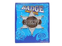 Оригинальный Сувенир Значок Звезда Шерифа Прикол для Вечеринки