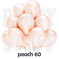 Воздушные шарики Gemar G110 Пастель Персик 12' (30 см), 100 шт