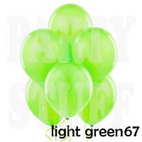 Надувные шарики Gemar G110 Пастель Салатовый 12' (30 см), 100 шт