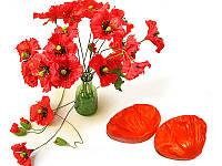 Молд вайнер лепесток мака для небольших реалистичных цветов-браслет,обруч