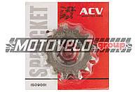 """Звезда трансмиссии (передняя) ЯВА 428-13T (сталь 20) """"ACV"""""""
