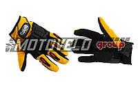 Перчатки PRO-BIKER (mod:MCS-22, size:L, желтые)