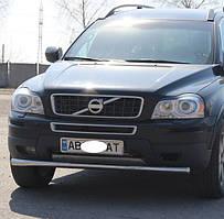 Кенгурятник одинарный ус на Volvo XC-60 (c 2009---) Вольво 60