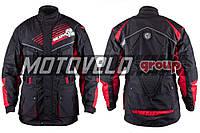 Мотокуртка SCOYCO (текстиль) (size:M, черная, mod:JK35)