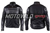 Мотокуртка SCOYCO (текстиль) (size:L, черная, mod:JK)
