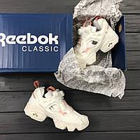 Топ продаж Кроссовки в стиле Reebok Insta pump Fury Celebrate женские 8a175559048fa