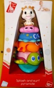 Пирамидка с игрушками для ванной, фото 2