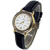 Часы с датой Полет Poljot 17 jewels water resistant -ソ腕時計