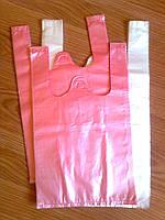 Пакеты майка упаковочные 25х45 см/ 8 мкм, пакет фасовочный Киев