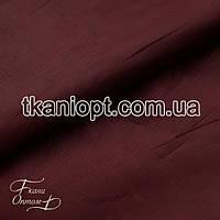 Ткань Болонья сильвер 190Т (бордовый)