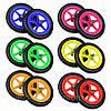 """Колеса EVA Strider 12"""" цветные на пластиковых дисках"""