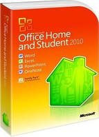 MS Office 2010 Home and Student Russian DVD BOX (79G-02139)