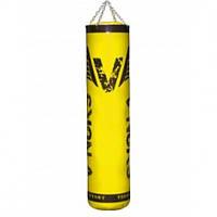 Боксерский мешок V`Noks Gel Yellow 1.2 м, 40-50 кг.с цепями