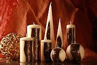 Декоративная свеча RAK - Antic Slupek 60/115 - Цилиндр 60/115мм