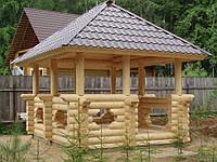 Беседки деревянные, Харьков
